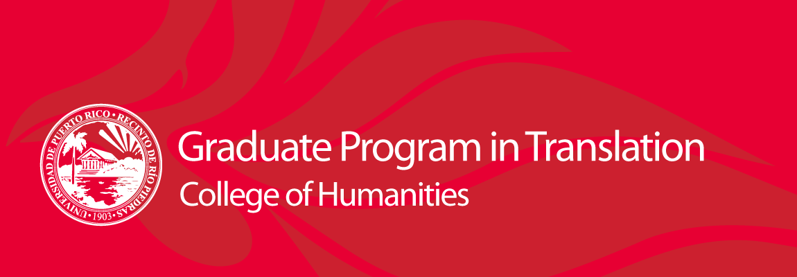 Graduate Program in Translation Logo